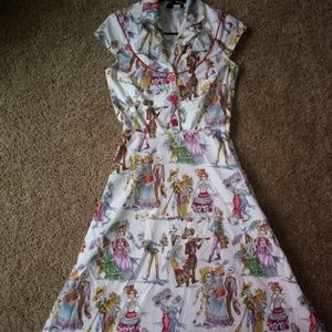 Day of the Dead Rockabilly Style Dress